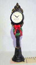 Grandeur Noel Christmas Victorian Village Town Clock 2000 Vintage