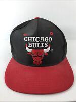 Rare Vintage COMPETITOR Chicago Bulls Snapback Hat Cap 90s Jordan Pippen Retro