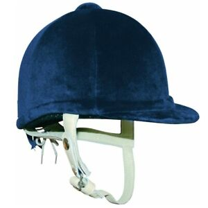 Adult Gatehouse Hickstead Airflow Navy Velvet Riding Hat NOT TO CURRENT STANDARD