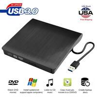 USB 3.0 External Driver Recorder 3D CD RW DVD Reader Writer Drive Burner Player