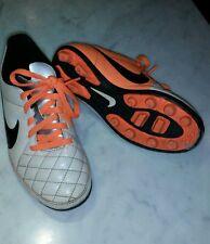 Scarpe calcio nike tiempo bambino junior misura 31 sport calcio shoes orange