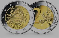 """2 Euro Gedenkmünze Niederlande  """"10 Jahre Euro"""" 2012 aus den Niederlanden"""