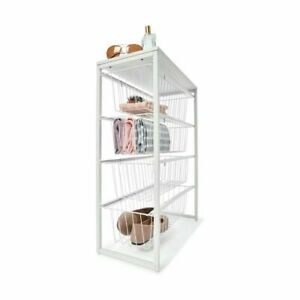 4 Wire Drawer Narrow Unit For Your Bedroom, Laundry, Kitchen Or Living Space SA