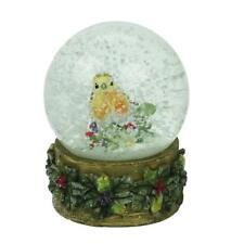Gisela Graham Christmas Robin Snowglobe Decoration - Christmas Robin Snowglobe