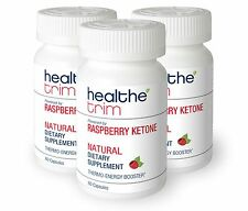 Healthe Trim Raspberry Ketone Healthy Weight Loss Dietary Supplement Diet Pills