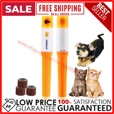 Premium Painless Nail Clipper for Pets All Size Dogs Cats Electric Paw Clip Pet