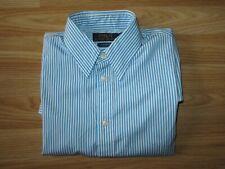 Womens RALPH LAUREN Blue Striped Shirt Custom Fit Size 6 / UK 10 worn TWICE!!!