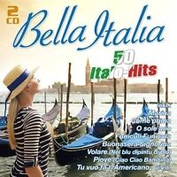 BELLA ITALIA-50 ITALO-HITS 2 CD NEU
