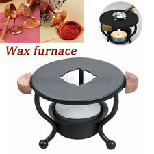 Ding-style Wax Melting Pot Stamp Greeting Seal Wax Furnace Stove Arts Crafts Kit