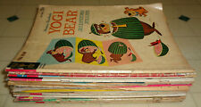 ~21x 1960s Gold Key Comic LOT Yogi Bear Bugs Bunny Tom Jerry Disney Jetsons MORE