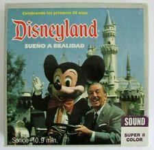Super 8 Color Magnetic Sound Celebrando los primeros 25 anõs Disneyland 1979