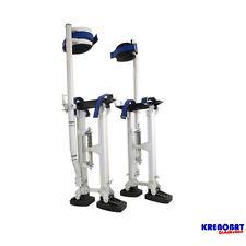 H2440DP : Echasses aluminium double pied 60 à 101 cm, mat pro, neuf, norme CE