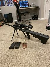 """500$ Value! Full Metal Airsoft Electric Sniper """"Anti Tank"""" Heavily Upgraded"""