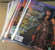 Xena topps The Official Magazine Your Choice