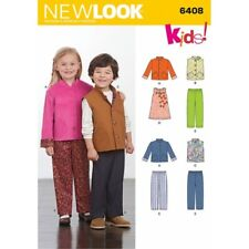New Look Children's Separates Jackets Tops Trousers Sewing Pattern 6408