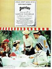 PUBLICITE ADVERTISING 115  1972  l'eau minérale  gazeuze  Perrier par Dewolf