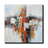 hand-painted Modern Abstract Art Oil Painting WALL DECOR Large Canvas framed