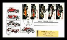 DR JIM STAMPS US AUTOMOBILES COMBO BOOKLET PANE FIRST DAY COVER ARTMASTER