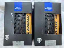 Pair Schwalbe 29 X 2.35 Tan Wall Magic Mary Evolution Folding Tyres