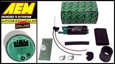 AEM HIGH FLOW E85/GAS 340LPH IN-TANK FUEL PUMP KIT OFFSET INLET P/N:50-1200