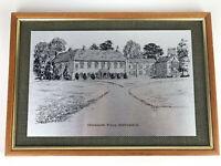 """Chicksands Priory Bedfordshire England Art Framed Print Decor 10"""" x 14"""""""