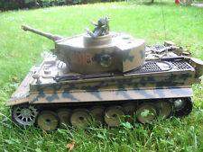 Heng long Tiger I Camonflage,Schußfunktion,Fernbedienung,mit OVP