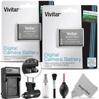 2 Pack Vivitar EN-EL23 Battery and Charger Kit for Nikon Coolpix P900, P600, P61