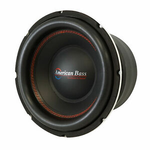 "American Bass TITAN 1044 10"" 1600w Peak/800w RMS Car Subwoofer w/ 3"" voice coil"