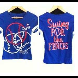 Girls Genuine Merch 5th & Ocean MLB Los Angeles Dodgers T-Shirt Size 10