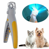 Illuminated Pet Nail Clipper- Great for Cats & Dogs,Features LED Light trimmer
