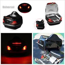 Fit For Honda Yamaha Suzuki Vulcan Boss Hoss Motorcycle Trunk Box W/ Taillight