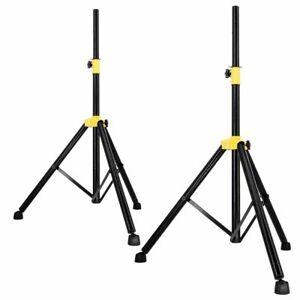 2x Dreibein Stativ Lautsprecher Boxen Ständer Boxenstativ Tripod Hochständer