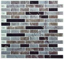"Crystiles® Peel&Stick Self-Adhesive Tiles, Item# 91010851, 10""X10"", Set of 6"