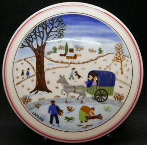 Villeroy & Boch Luxembourg Naif Christmas Medium Candy/Trinket Box