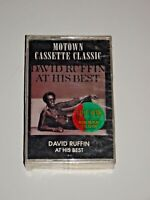DAVID RUFFIN AT HIS BEST CASSETTE TAPE SEALED BRAND NEW MOTOWN TEMPTATIONS