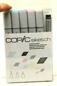 New Copic Sketch Blending Basics Set ~ Dual Tipped Alcohol Ink Markers