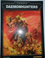 Warhammer Daemonhunters Supplement Codex Armeebuch 40 K Englisch
