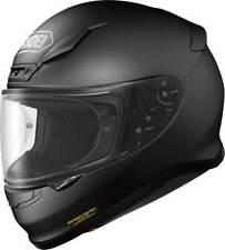 NEU SHOEI Motorradhelm NXR schwarz matt Gr. S = 55/56 sportlicher Helm