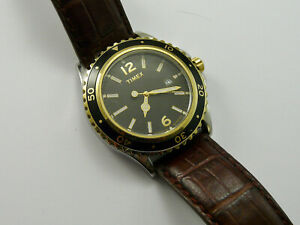 VINTAGE 1980s TIMEX INDIGLO QUARTZ LARGE DIVERS GENTS WRISTWATCH VGC