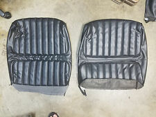 71-72 NEW CUTLASS BENCH SEAT UPPER COVERS GS 350 400 GSX SPECIAL BUICK W/ARMREST