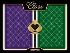 New COPAG 100% Plastic Playing Cards CLASS STANDARD - New Style Bridge Jumbo Ind