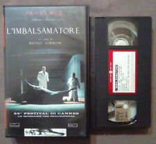 VHS FILM Ita Thriller L'IMBALSAMATORE matteo garrone ex nolo no dvd(VH35)