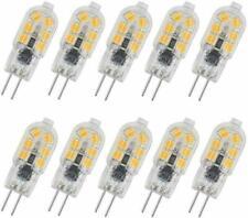 2835 2W G4 LED Bulb AC/DC 12V Bi Pin Base Milky/Transparent Case 12-SMD ei