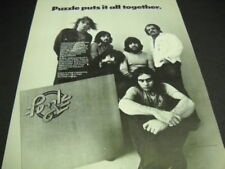 Puzzle Putis It All Together on their Debut Album original 1973 Promo Poster Ad