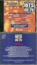 """CD - HITS DES ANNEES 60 - 70 : De """" TWIST AND SHOUT """" à """" I GET AROUND """""""
