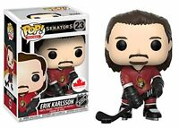 Funko Pop! Erik Karlsson #23 Canada Exclusive Brand New Vinyl Toy Figure