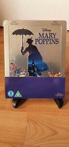 Disney - Mary Poppins - Blu-ray - Steelbook - New and Factory Sealed