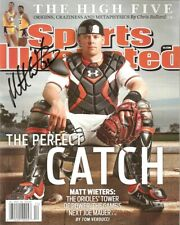 MLB Orioles Matt Wieters SI Magazine Cover 8x10 Signed Autographed Reprint Photo