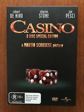 Casino DVD 2 Disc Special Edition Region 4 Disc VGC