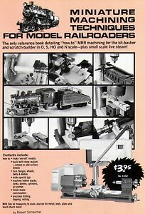 Unimat Lathe Miniature Machining for Model Railroaders PDF Manual Machinex 5